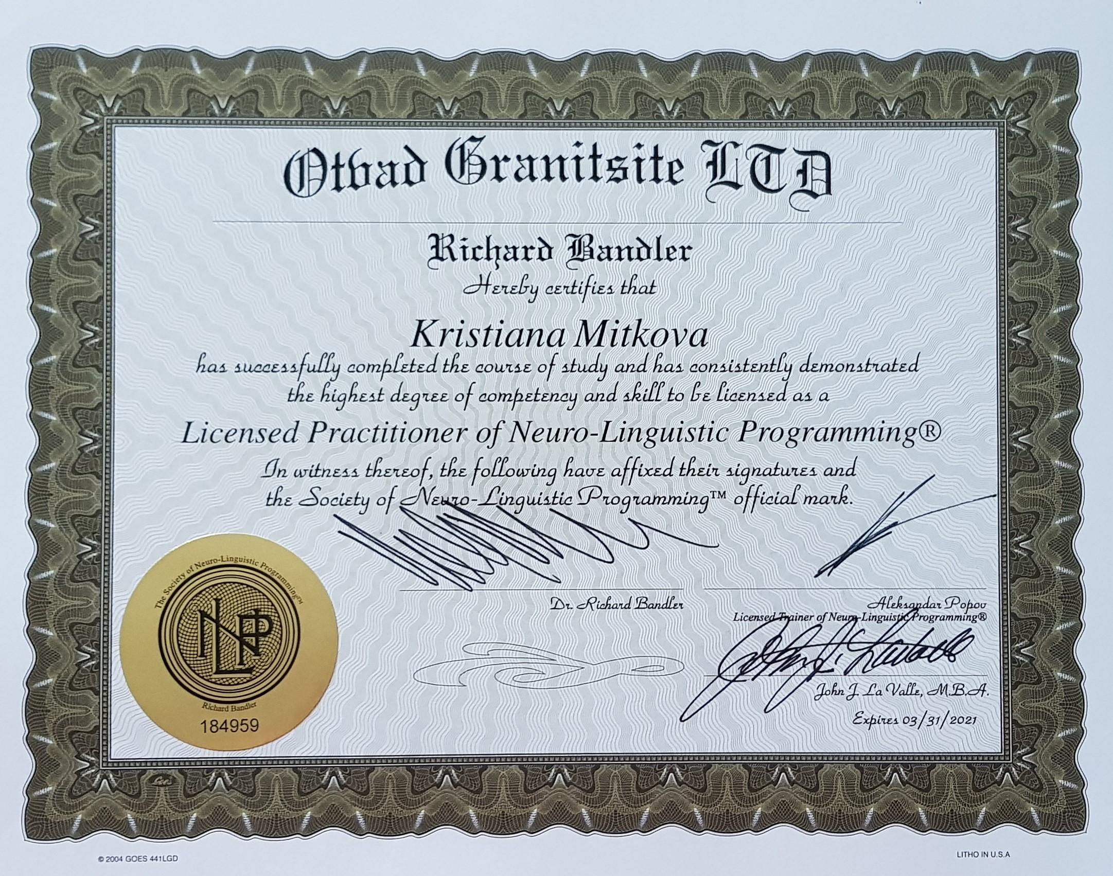 nlp praktic, nlp, НЛП, общество,психология, международно признат сертификат